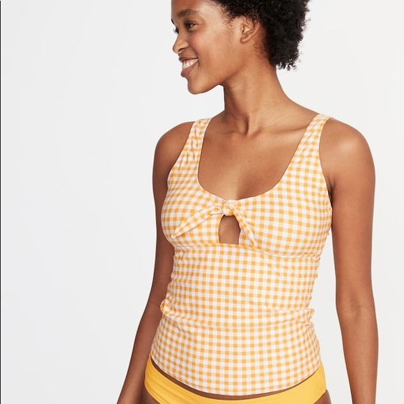 Old Navy Other - Tie-Front Tankini Top for Women